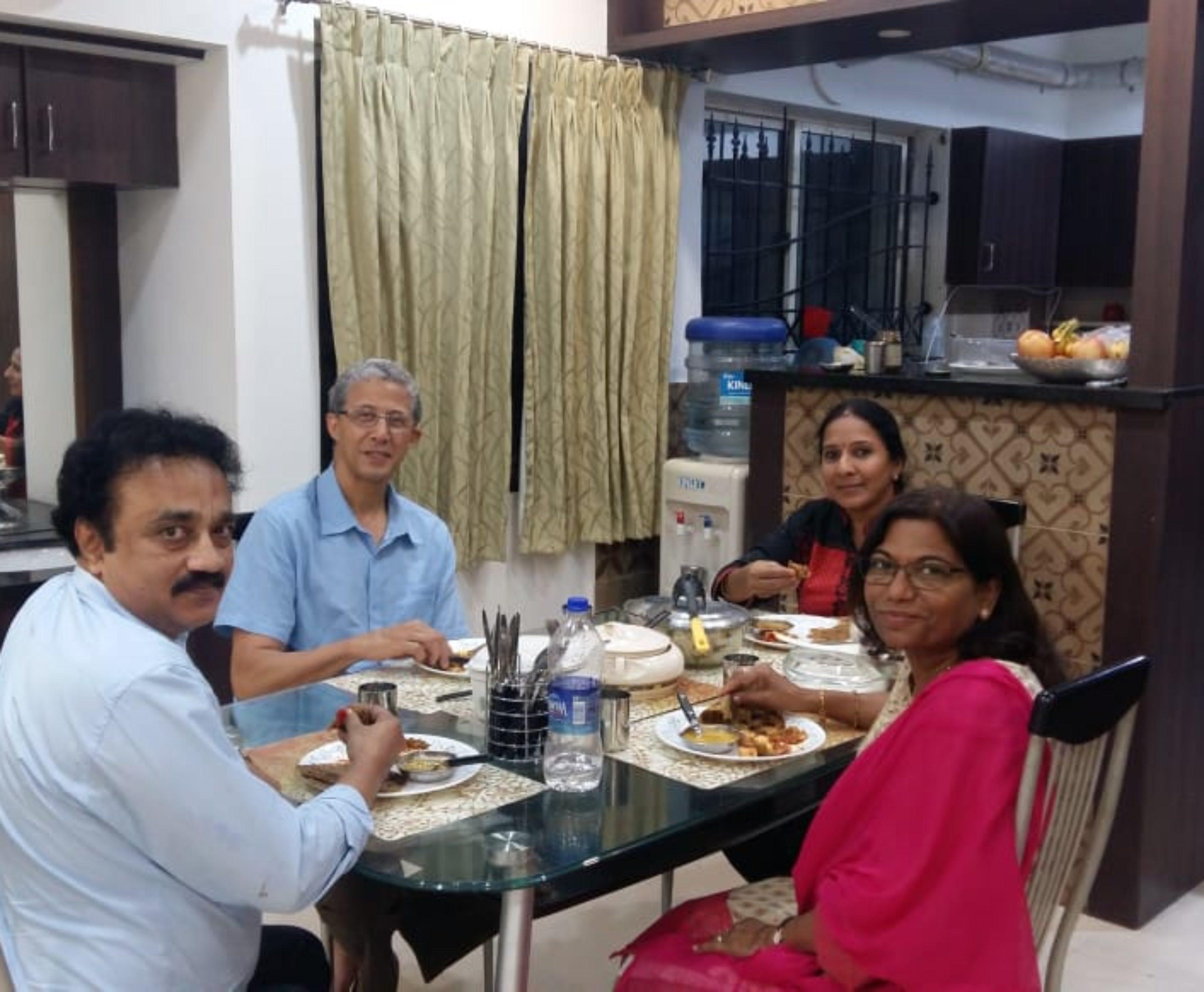 With Mr Paul Sudhakar, GST office